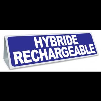 Triangle magnétique de toit Hybride Rechargeable bleu