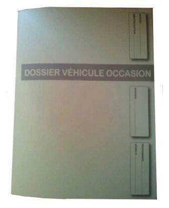 Dossier véhicule occasion coloris jaune les 500 ex